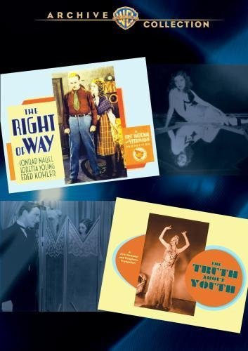 Bild von The Right Of Way/ The Truth About Youth Double Features by Loretta Young
