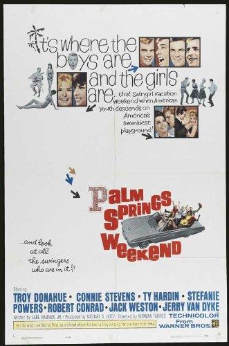 postersdepeliculas Palm Springs Weekend 11x 17Film Poster (1963) -