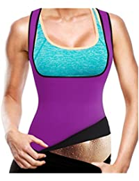 Gotoly Women's Hot Sweat Slimming Neoprene Plus Size Vest Body Shapers For Fat Burner