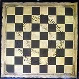 Lord of The Rings - Tablero de ajedrez para la colección Señor de los Anillos realizado en cartón 40x40 cms