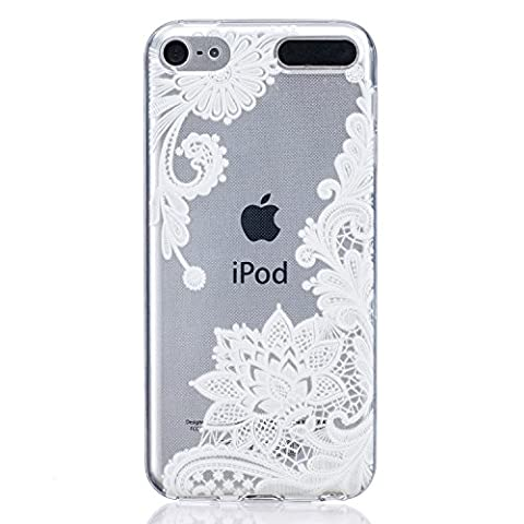 Coque Apple iPod Touch 6 / 5, Cozy Hut ® Coque Apple iPod Touch 6 / 5 [ Liquid Crystal ] Housse Etui TPU Silicone Clair Transparente Ultra Mince Premium Semi- transparent / Anti-scratch Antichoc / Extra Slim Douce Coque pour Apple iPod Touch 6 / 5 Generation - lis