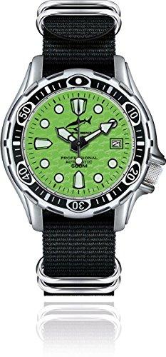 Chris Benz Deep 500m Automatik CB-500A-G-NBS Reloj Automático para hombres Reloj de Buceo