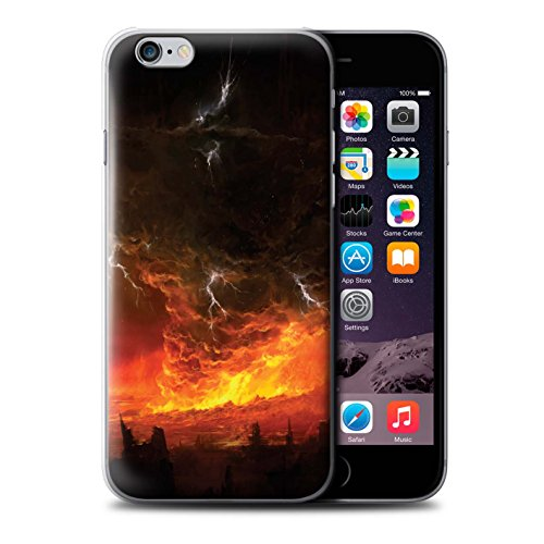 Offiziell Chris Cold Hülle / Case für Apple iPhone 6 / Pack 8pcs Muster / Gefallene Erde Kollektion Apokalypse
