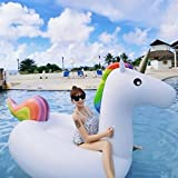 Unicorn Float ,Inflatable Unicorn Pool Float ,Summer Swimming Pool Inflatable Float Toy for Adults and Kids(200x100x90cm/78.7*39.4*35.4inch)By THKJW