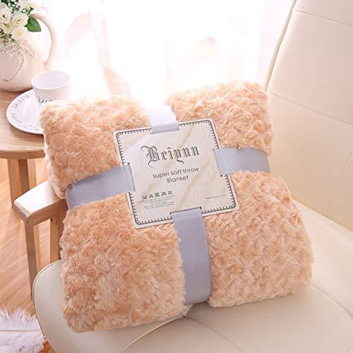 Ultra molle nap coperta del tiro della scala di pesci della peluche fuzzy coperta calda microfibra coperte economico per adulti divano letto divano all-season coperte,marrone,51.1inch×62.9inch