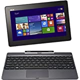 Asus Transformer Book T100TA 25.65 cm (10.1 Zoll) Convertible Tablet PC (Intel Atom Quadcore Z3740 1,3GHz, 2GB RAM, 64GB HDD, Intel HD, Windows 8 Touchscreen) grau