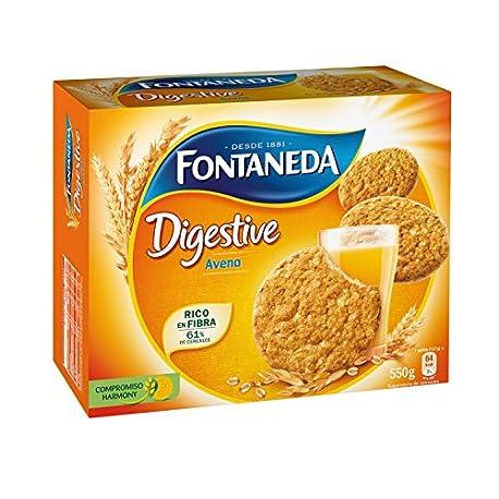 Fontaneda Digestive Galletas con avena 550 g