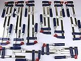 16 x Schraubzwinge Set 150x50 + 200x50 + 300x50 Zwinge Klemmzwinge Leimzwinge