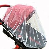 CHRISLZ 2 PC Baby Universal mosquitero, cifrado completo de la cubierta del bebé de mosquitos mosquetones
