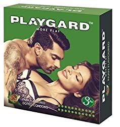 PLAYGARD MORE Play DOTTED PAN/PAAN Condom 3S (Pack of 10)