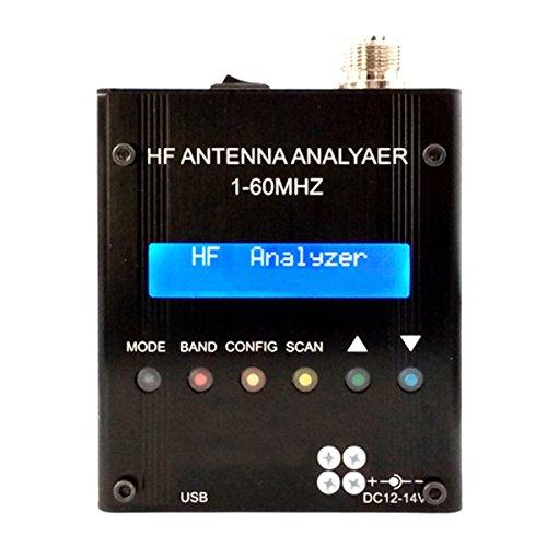 Tutoy Mr300 Digital Shortwave Antenna Analyzer Meter Tester 1-60M Für Ham Radio Meter Ham Radio
