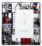 London Fotorahmen, Keramik, fà ¼ r 15,2 x 10,2 cm große Fotos
