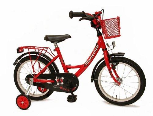 Bachtenkirch, Biciclettina per bambini, Rosso (Rot / Schwarz), 16