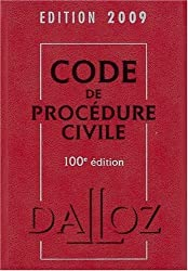 Code de procédure civile 2009