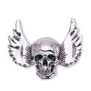 LUOEM Esqueleto Broche Pin Cráneo