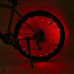 513e7VlJm%2BL. SS300 VGEBY Lampada della Ruota per Bicicletta 20 LED Luci per Bicicletta Ruota Raggi
