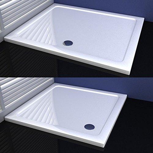 Duschwanne Duschtasse für Duschkabine Duschtür Duschabtrennung 70x80cm