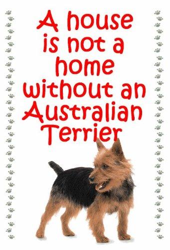 Australian Terrier Dog-Portachiavi a forma di casetta