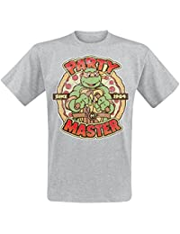 Teenage Mutant Ninja Turtles Party Master T-Shirt Grau