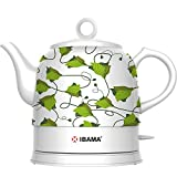 IBAMA Unweltschutz Kabellose Teekanne Keramik Wasserkocher 1.2L