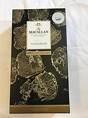 The MACALLAN HIGHLANDS Gold with two Engraved glass