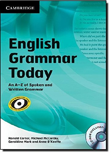English Grammar Today with CD-ROM: An A-Z of Spoken and Written Grammar by Ronald Carter (2011-06-25)