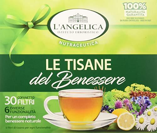 L\'Angelica Cofanetto Regalo Misto Tisane da 30 Filtri -  60 gr