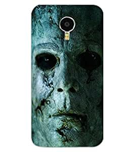 ColourCraft Scary face Design Back Case Cover for MEIZU M3 NOTE