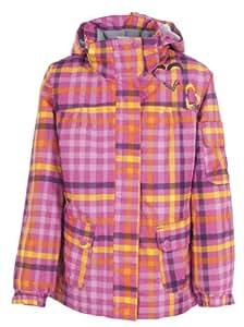 Trespass Girl's Dipity Ski Jacket - Bubblegum Check, Size 9/10
