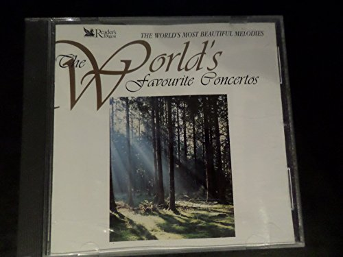 THE WORLDS MOST BEAUTIFUL MELODIES - THE WORLDS MOST FAVOUTITE CONCERTOS - READERS DIGEST 3 DISC BOX SET
