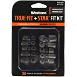 Westone TRUE-FIT + STAR Fit Kit. 20 Premium Eartips. 5 sizes