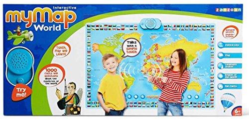Zanzoon le meilleur prix dans amazon savemoney zanzoon interactive my map world talking poster gumiabroncs Gallery