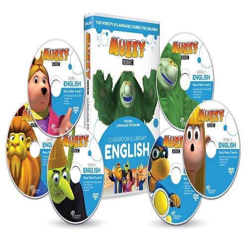 Englisch für Kinder Muzzy BBC 6 DVDs und Online-Kurse - Spiele und Videos - BBC-Sprachkurse