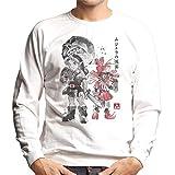 Cloud City 7 Majoras Sumi E Legend of Zelda Men's Sweatshirt