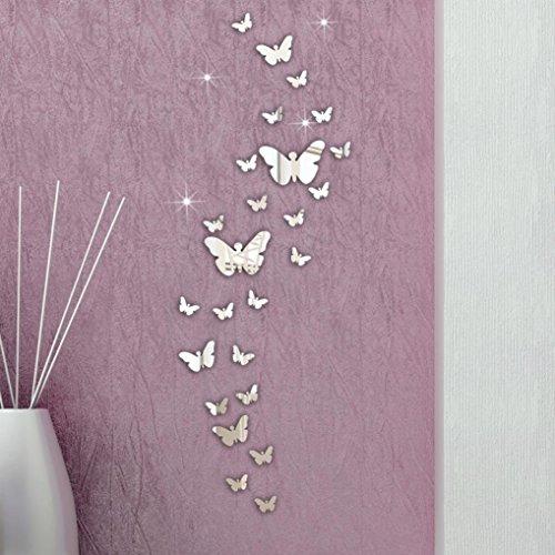 XX&GUO 3D Adhesivo Decorativo para Pared Vinilos Arbol DecoracionesDel Arte Acrílico Pegatinas de Pared para Salón (M)