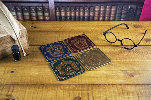 Harry-Potter-Hogwarts-Crest-Coasters-Tinplate-Multi-Colour-1-x-9-x-9-cm