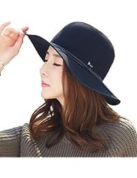 f136d47ef8d Siggi Ladies 100% Wool Felt Fedora Hat Wide Brim Derby Church Party Winter  Hats for
