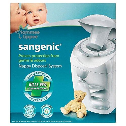 Preisvergleich Produktbild Système d'élimination Tommee Tippee Sangenic Hygiene plus Nappy - Paquet de 6