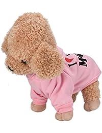 b9042cb4d009 Culater® My Mom Pet Vestiti del Cane per Cani di Piccola Taglia del Cane  Caldo