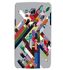 Citydreamz Abstract/Modern Art/Creative Design Hard Polycarbonate Designer Back Case Cover For Samsung Galaxy Core Prime G360H/G361H