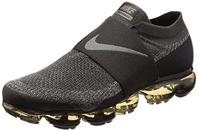 368e096c5b ... Running Shoes; Nike Men's Air Vapormax Flyknit Moc Midnight Fog/Dark  Stucco/Legion Green/Black