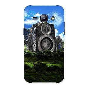 Mountain Range Speaker Back Case Cover for Galaxy J1
