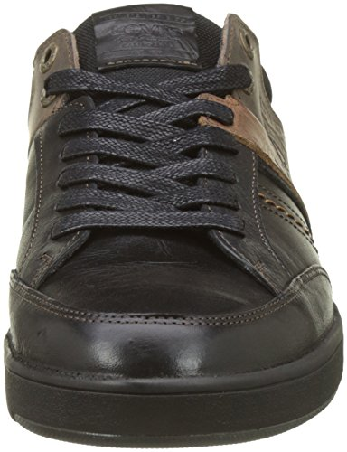 Levis Beyers, Baskets Basses Homme Noir (REGULAR BLACK)