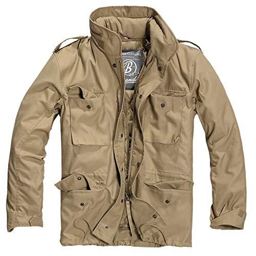 Brandit Herren M-65 Feldjacke Classic Jacke, Beige (Camel 70), XX-Large (Machen Kostüm Schulterklappen)