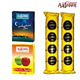 Aafreen Hookah Molasses Hookah Flavours (Arabian Sea & Dubai Safari) / With 20