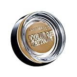Maybelline New York Lidschatten Eyestudio Color Tattoo 24h Eternal Gold 05 / Gel-Cream Eyeshadow metallic, langanhaltend, 1 x 4 g