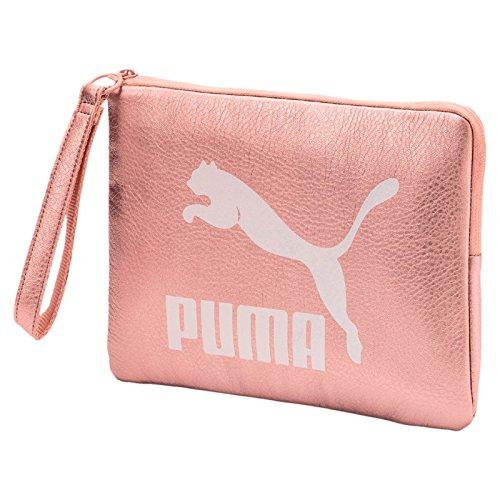 PUMA mujer con manguito de embrague 075 165 01 PRIME Pounch METÁLICO UNICA Rosa