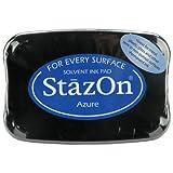 StazOn Tampon encreur solvant SZ-95 Bleu