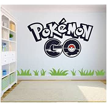 Pokemon Go Wall Art, Wall Sticker Decal, Kids Room, Bedroom Wall Art Part 68