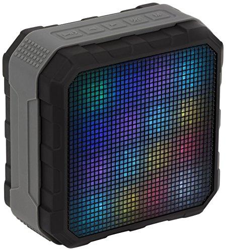 Galleria fotografica KitSound Sonar 4W Black - portable speakers (4 W, 100 - 20000 Hz, Wired & Wireless, NFC/Bluetooth/3.5 mm, 10 m, Micro-USB)